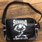 Black Skinhead Warrior Bag